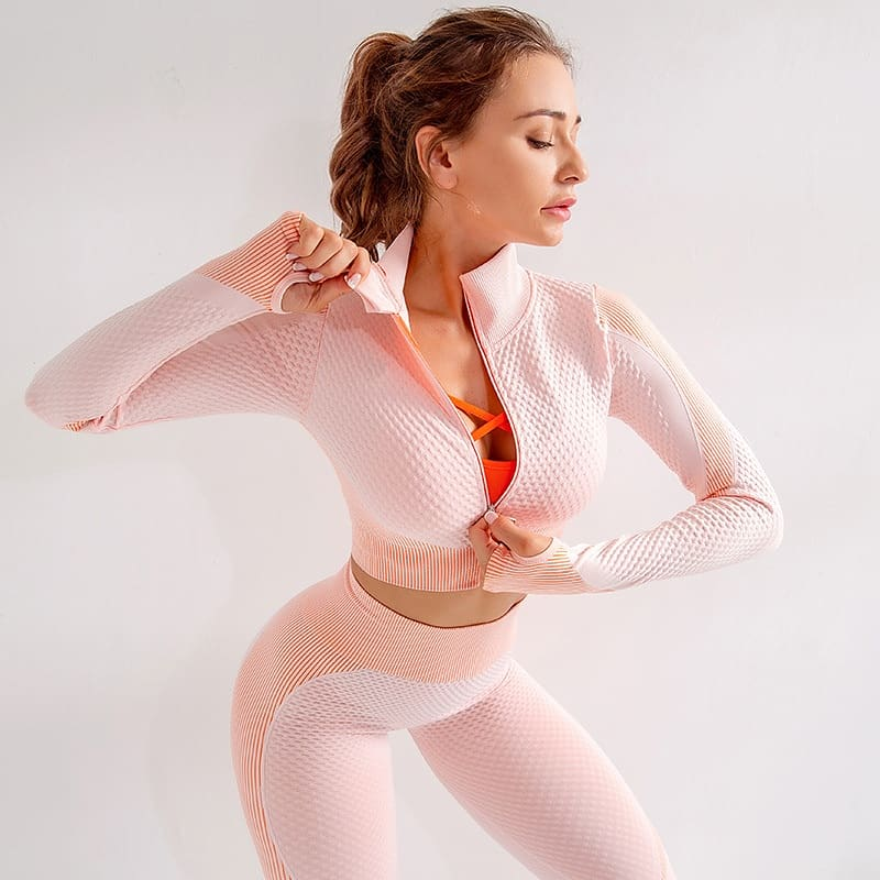 Ella Fitness and Workout Set Pink