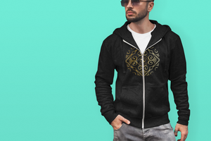 Señor Diego Collection : Mens hoodys with Eldragonfly Barcelona logo. (XS-2XL)