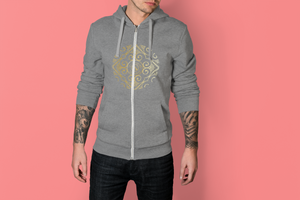 Señor Diego Collection : Mens hoodys with Eldragonfly Barcelona  (XS-2XL)
