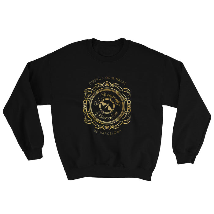 Barcelona beachstyle, Mens  sweatshirt,with an Eldragonfly design print logo  : Dario Collection