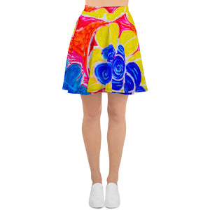 Natalina Collection: Barcelona beach-surf style skirt. MADE TO ORDER - Eldragonfly Barcelona
