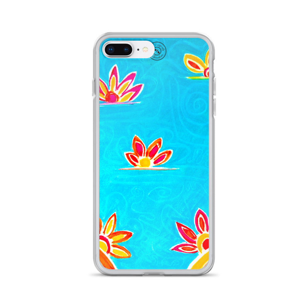 Eldragonfly Barcelona - iPhone Case- Catalonian beach plants design 2