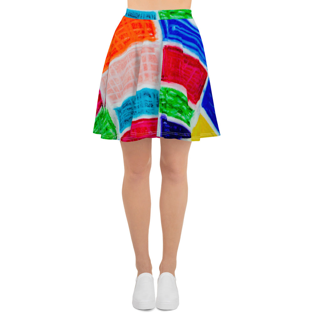 Barcelon beach style , Womens skirts : Señorita Alanis Collection -design 1 - Eldragonfly Barcelona