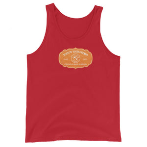 Tomas Maria Collection: Unisex Beach fashion tank top. MADE TO ORDER