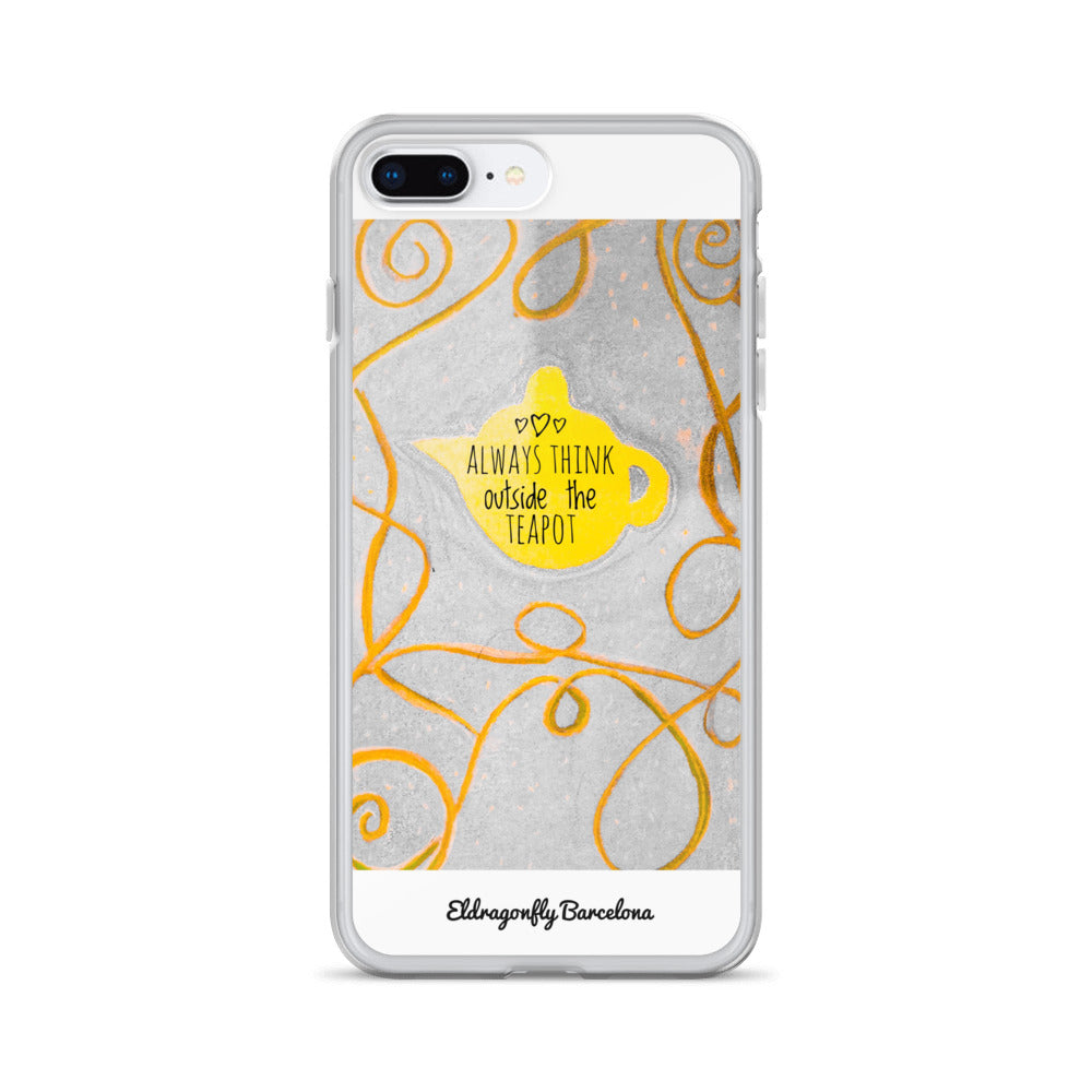 "Eldragonfly Barcelona -iPhone Case- ""Always think outside the teapot """