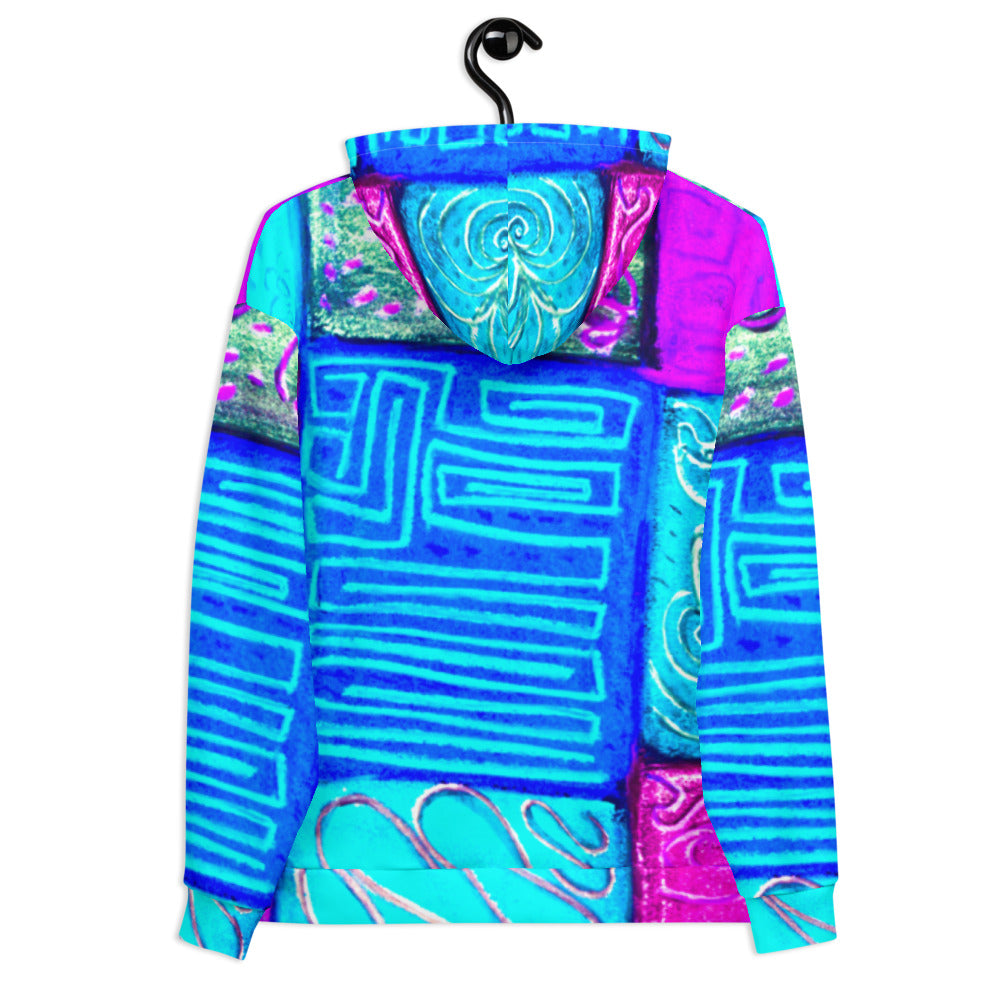 Selva de Mar Collection: Unisex beach fashion style hoody