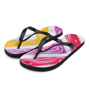Barcelona beachstyle flipflops : Julia Collection- Numero 5 - Eldragonfly Barcelona