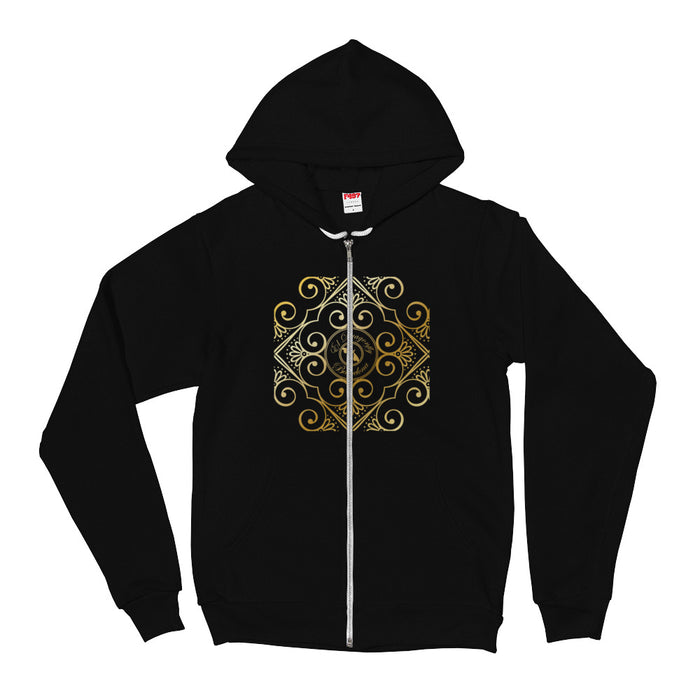 Barcelona city style , Men´s  hoodie , with an exclusive Eldragonfly logo : Señor Castilla Collection