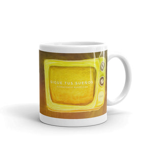 "Mug ""Sigue tus sueños"" (follow your dreams in Spanish) - Eldragonfly Barcelona"