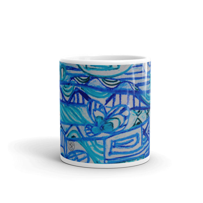 Señor Juan Pablo collection - blue Mug