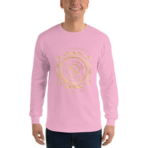 Mens long Sleeve T-Shirt, with an Eldragonfly logo : Señor Francisco Collection - Eldragonfly Barcelona