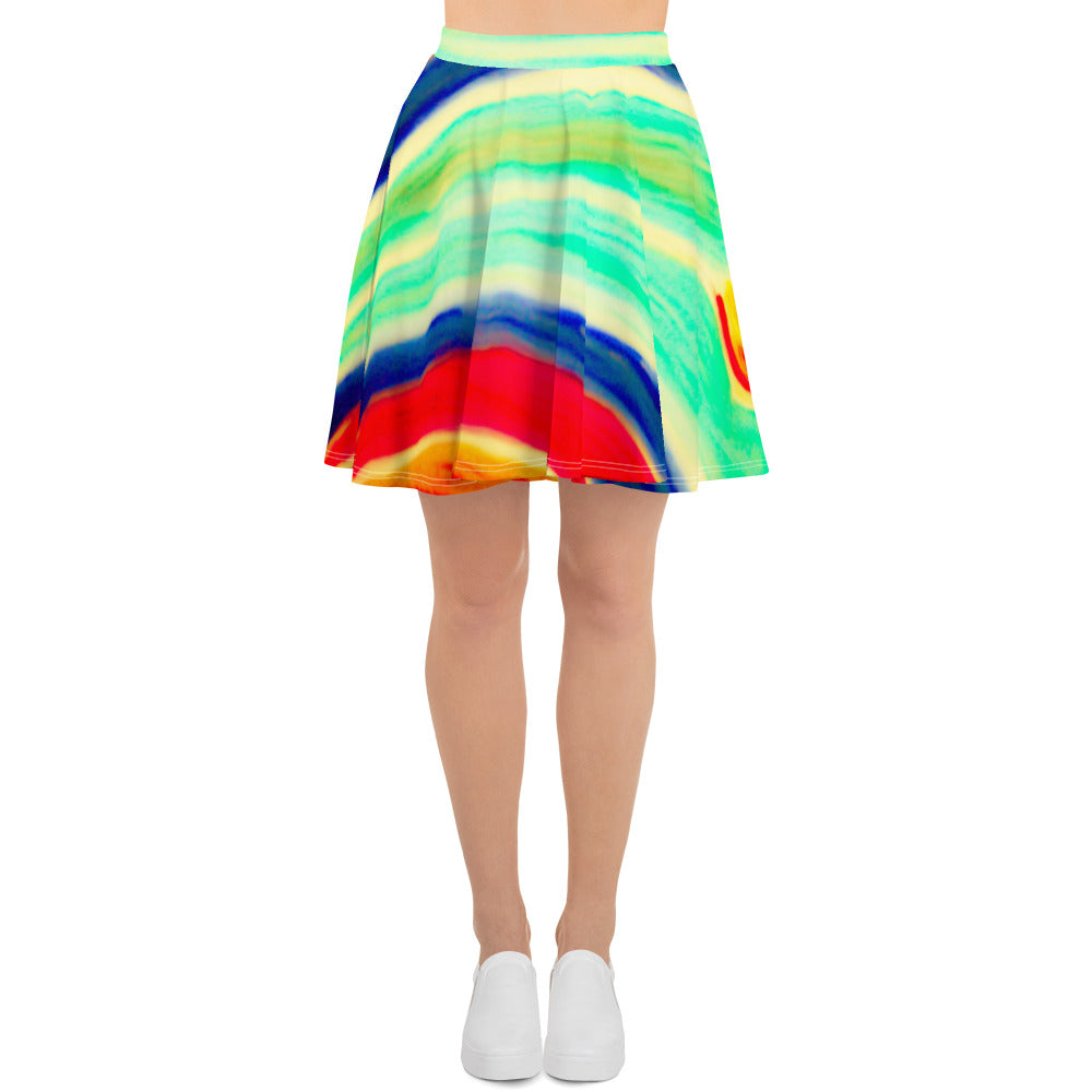 Barcelona beach style Womens skirt : Galicia Collection - Eldragonfly Barcelona