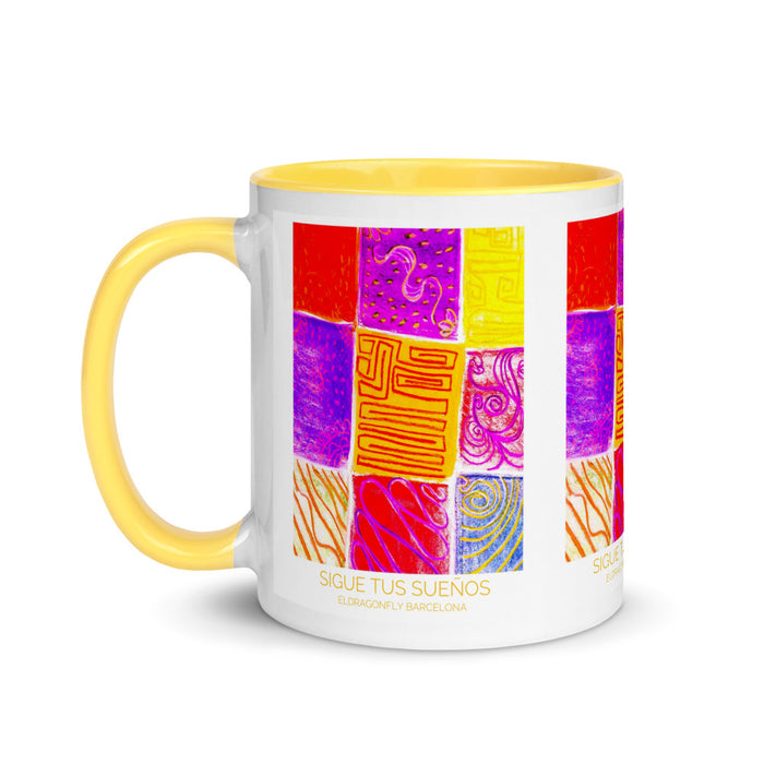 Eldragonfly Mug with Color Inside