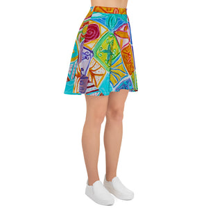 Barcelona beach style Womens skirt : Diega  Collection - Eldragonfly Barcelona