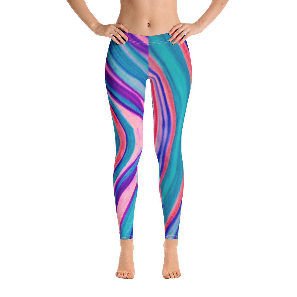 Barcelona beach style leggings , exclusive designs from Eldragonfly :  Fabiana Collection - Eldragonfly Barcelona