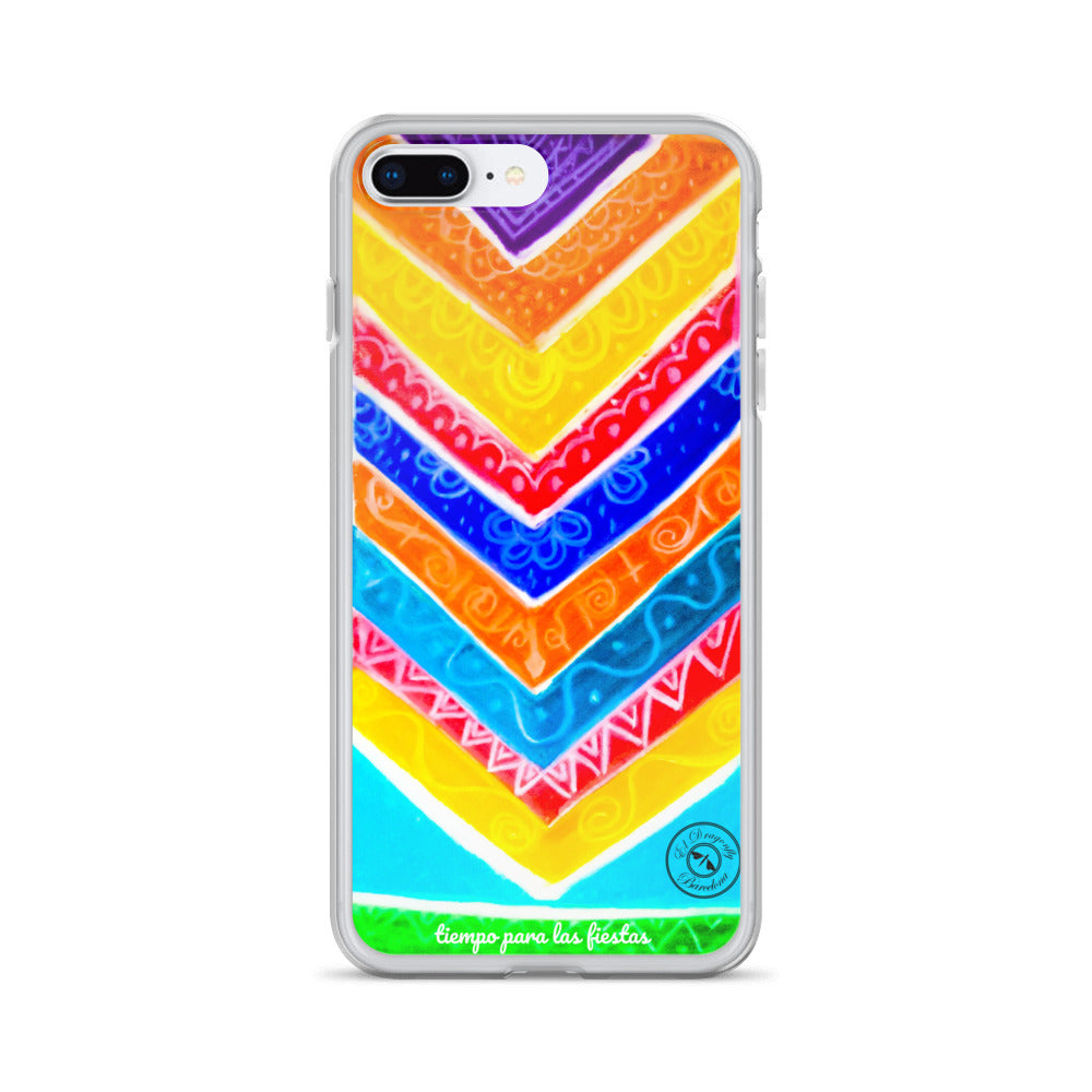 "Eldragonfly Barcelona -iPhone Case ""Tiempo para las fiestas"" (time to party)"