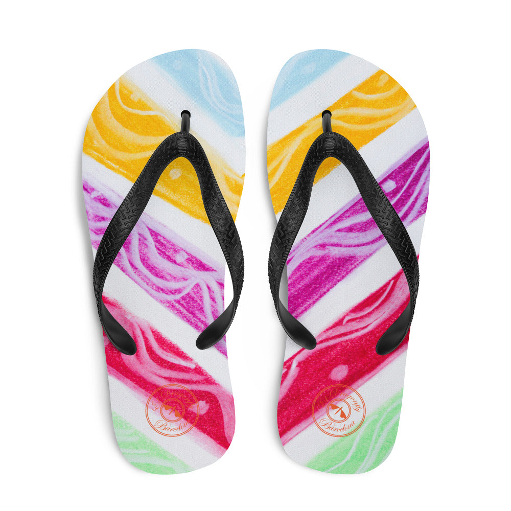 Barcelona beachstyle flipflops : Julia Collection- Numero 3 - Eldragonfly Barcelona
