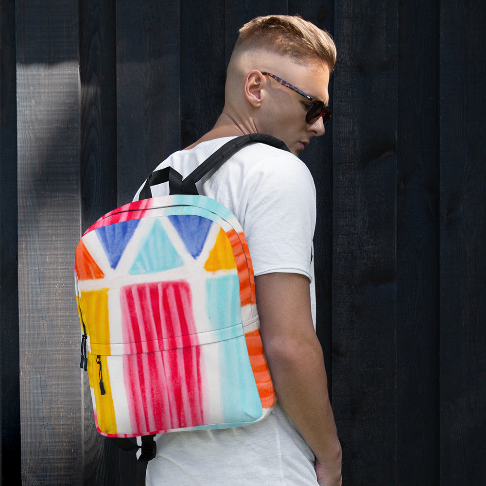 Backpack Casita de la playa Collection - Eldragonfly Barcelona