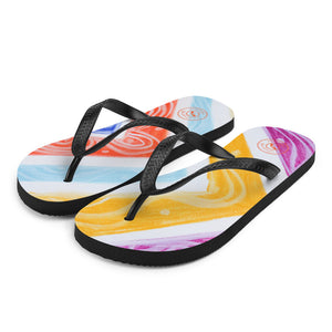 Barcelona beachstyle flipflops : Julia Collection- Numero 4 - Eldragonfly Barcelona