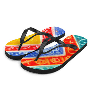 Barcelona beachstyle flipflops : Ava Collection- Numero 9 - Eldragonfly Barcelona
