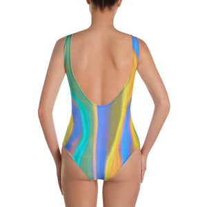 Barcelona beach style swim wear, one-piece swimsuit, unique design from Eldragonfly :Paulina Collection - Eldragonfly Barcelona