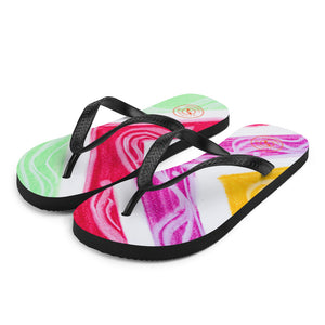 Barcelona beachstyle flipflops : Julia  Collection- Numero 1 - Eldragonfly Barcelona