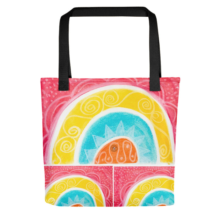 Barcelona beach bags , with mediterranean style flowers , designed by eldragonfly barcelona