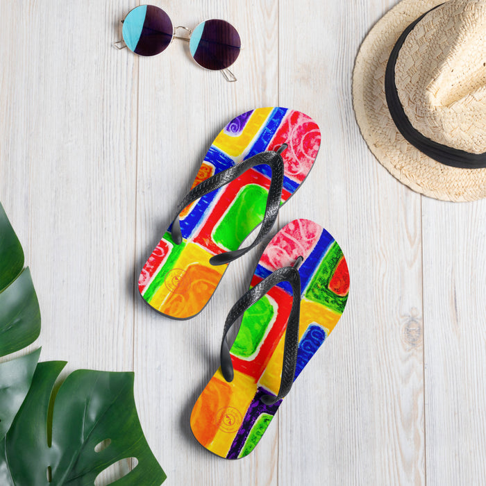 Impressionist style  Flip-Flops