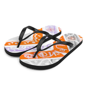 Barcelona beachstyle flipflops : Ava Collection -Numero 3 - Eldragonfly Barcelona