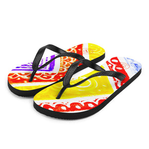 Barcelona beachstyle flipflops : Ava Collection-Numero 6 - Eldragonfly Barcelona