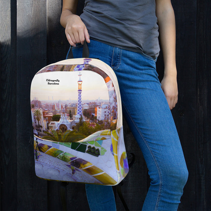 Parc Güell Collectoion: Beach fashion backpack