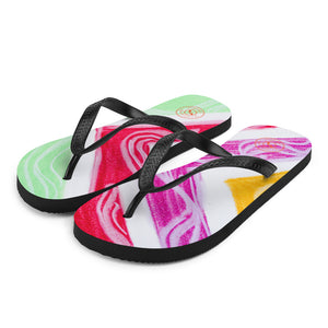 Barcelona beachstyle flipflops : Julia Collection- Numero 2 - Eldragonfly Barcelona