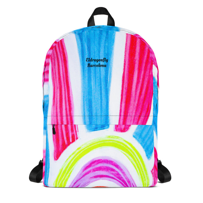 Señora Marti Collection: Barcelona surfstyle  backpack. MADE TO ORDER