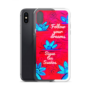 Sigue tus sueños collection: iPhone Cover with positive sayings