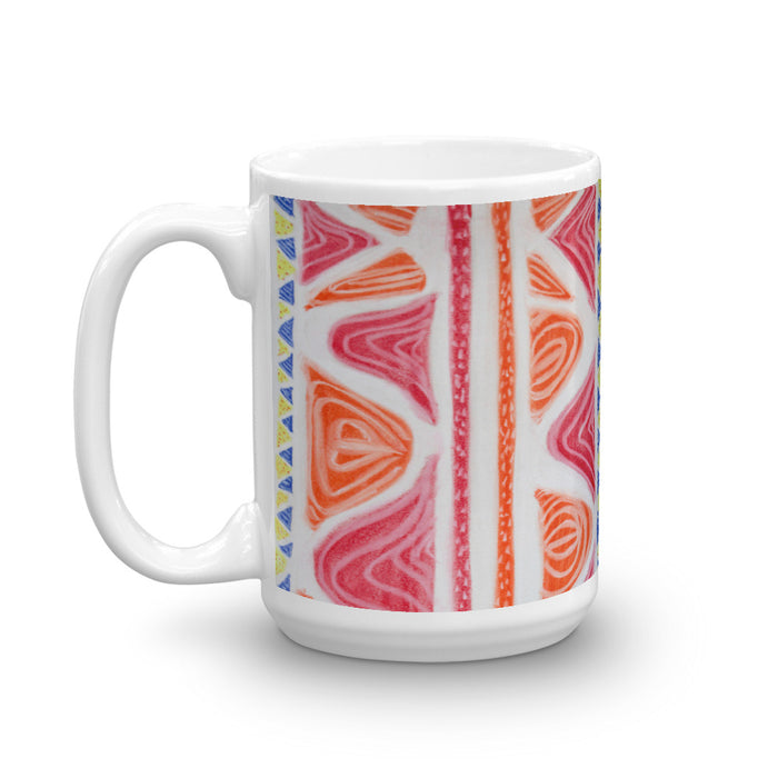 """La Alfombra diseño de San Pol ""  ( A carpet  design from Saint Paul- in English  ) Mug"