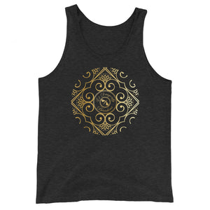Carlos Maria Collection: Unisex  cotton tank top (XS-2XL)
