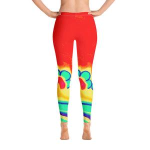 Barcelona beachstyle womens sports  leggings : Emelda Collection - Eldragonfly Barcelona