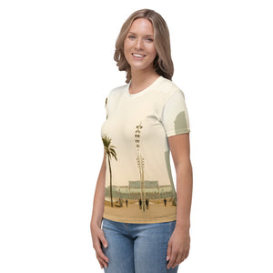 Barceloneta  Beach Collection ; Women's slimfit  T-shirt,  MADE TO ORDER