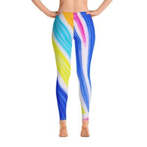Barcelona beach style ,sport , leggings, exclusive design from Eldragonfly  :Señora Cinta Collection - Eldragonfly Barcelona
