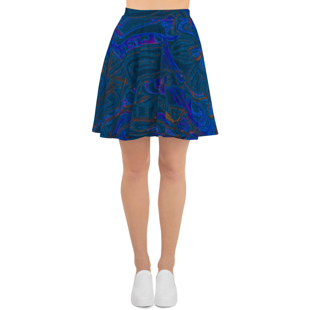 Barcelona beachstyle Womens skirts: Señor Perla Collection - dark blue - Eldragonfly Barcelona