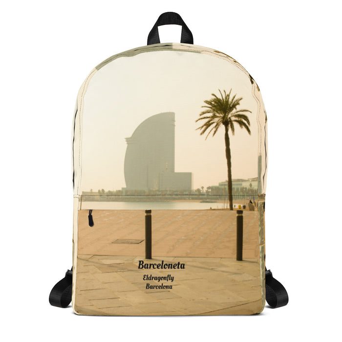 Barceloneta  Collection: Barcelona beach fashion backpack