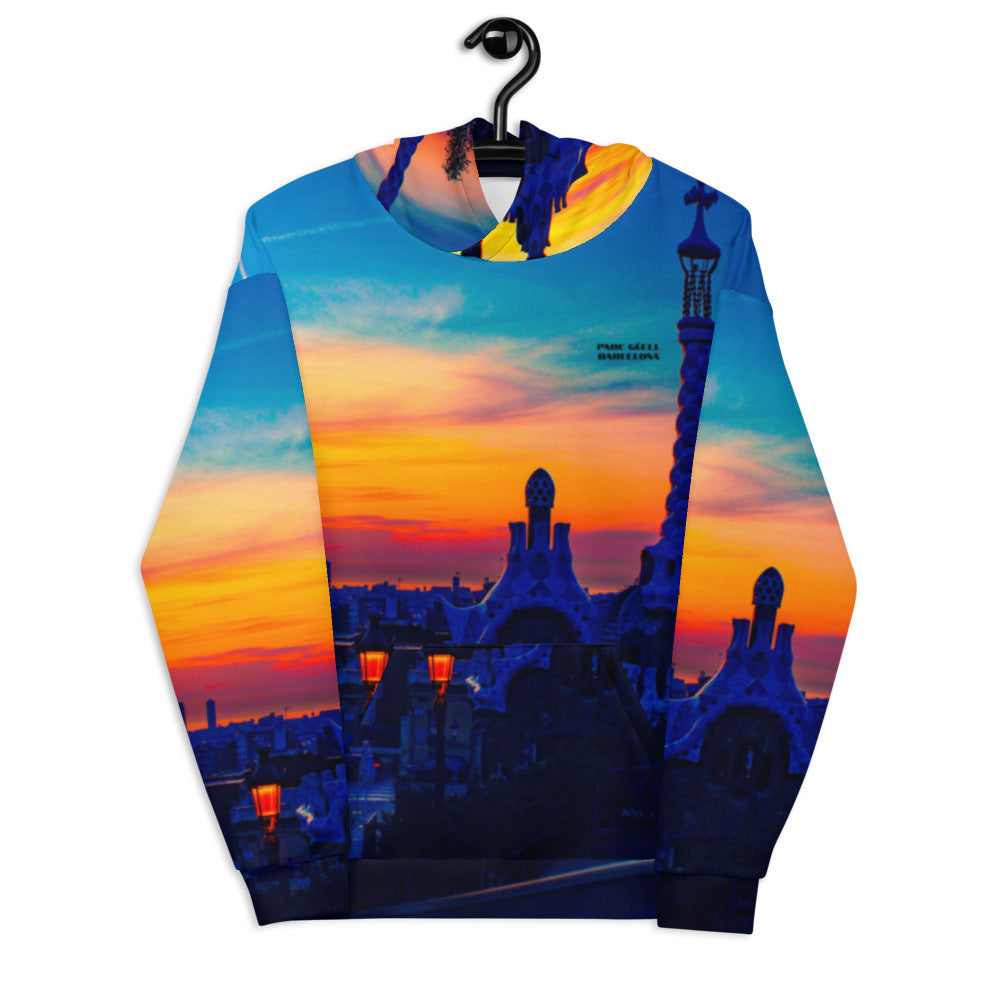 Parc Güell Collection: Barcelona streetstyle Hoodie. MADE TO ORDER