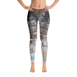 Barcelona beach style leggings , exclusive designs from Eldragonfly : La pedera Collection - Eldragonfly Barcelona
