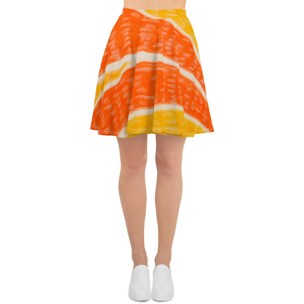 Barcelon beach style , Womens skirts , an exclusive Eldragonfly print design  :