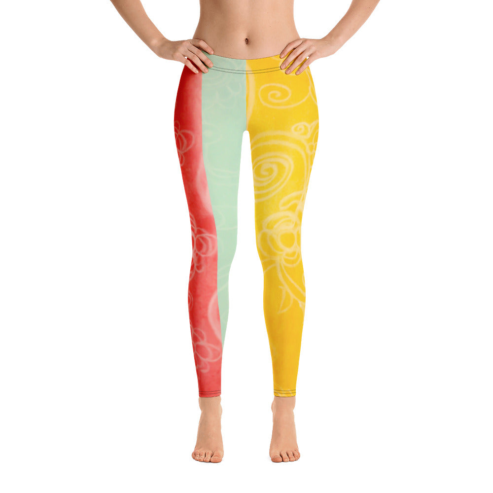 Barcelona beach style , womens leggings, exclusvely from Eldragonfly : Alicia Collection - Eldragonfly Barcelona