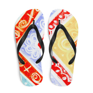 Barcelona beachstyle flipflops : Ava Collection- Nemero 4 - Eldragonfly Barcelona