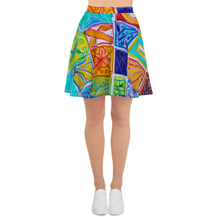Barcelona beach style Womens skirt : Diega  Collection