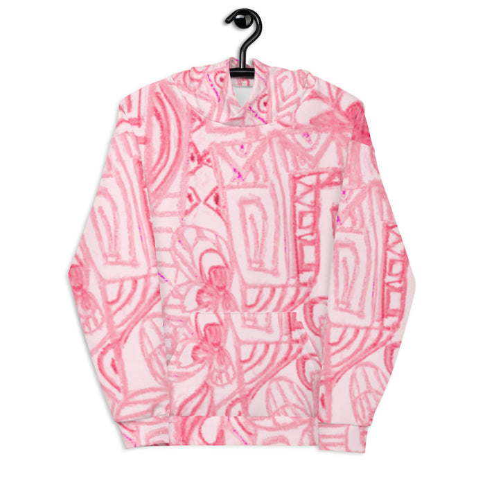 Graffitti Collection: Barcelona beachstyle Unisex Hoodie. MADE TO ORDER