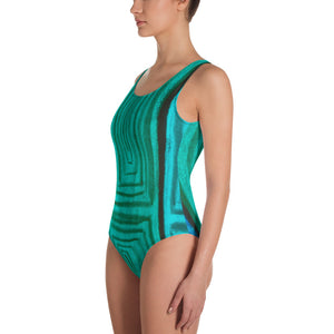 Barcelona beachstyle one-Piece Swimsuit, exclusively from Eldragonfly :Claudita  Collection - Eldragonfly Barcelona