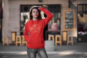 Eldragonfly womens hoody Fran Rubi Collection